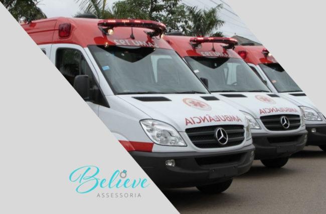 Ambulância no casamento: Entenda a necessidade